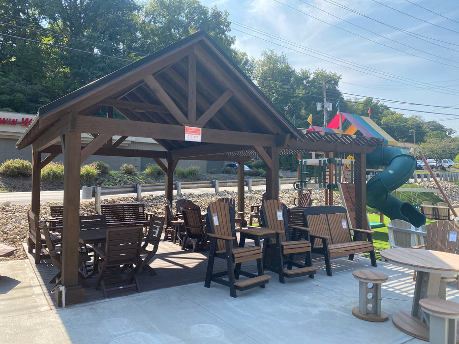 12 x 16 Breckenridge Pavilion w/ Attached Pergola