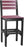 LuxCraft Island Side Chair - Bar Height