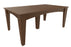 "LuxCraft 44"" x 72"" Island 7 pc. Dining Table Set"