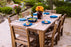 "LuxCraft 44"" x 72"" Island Dining Table Set"