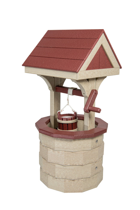 Beaver Dam Small Vinyl Wishing Well
