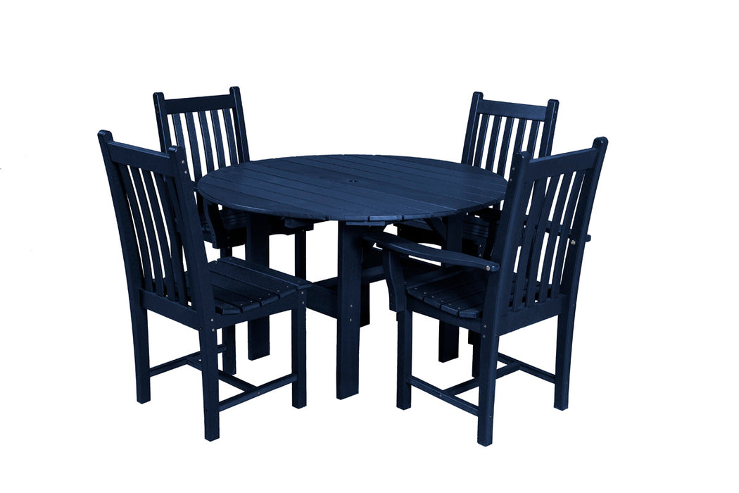 "Wildridge 46"" Round Table with 4 Side Chairs"