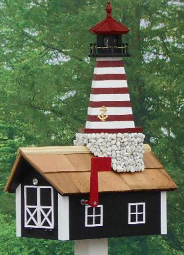 Twin Oaks Complete Lighthouse Mailbox