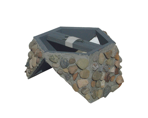 Stone Base for Lighthouse Mailbox