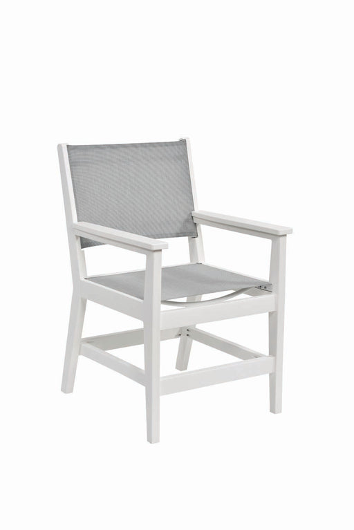 Berlin Gardens Mayhew Sling Dining Arm Chair