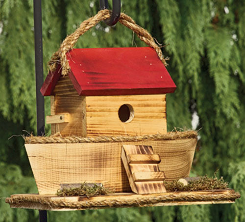 Twin Oaks Noah's Ark Birdhouse