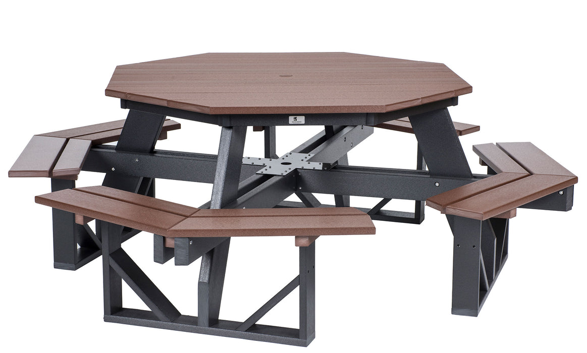 Berlin Gardens Octagon Picnic Table