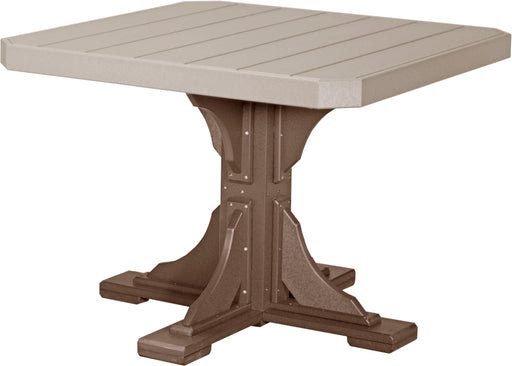 "LuxCraft 41"" Square Table - Dining Height"