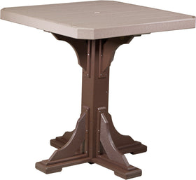 """LuxCraft 41"""" Square Table - Bar Height"""
