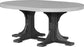 LuxCraft 4' x 6' Oval Table - Dining Height
