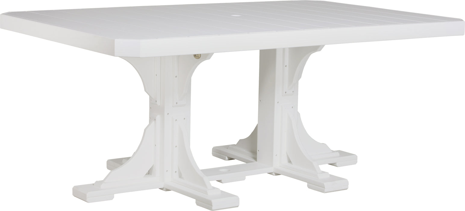 LuxCraft 4' x 6' Rectangular Table - Dining Height