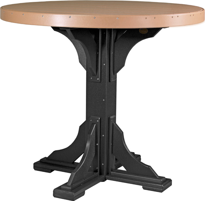 LuxCraft 4' Round Table - Bar Height