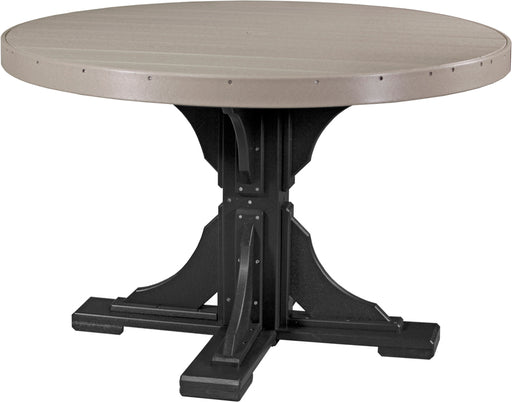 LuxCraft 4' Round Table - Dining Height