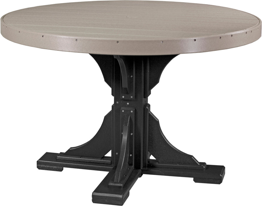 LuxCraft 4' Round Table Set #2