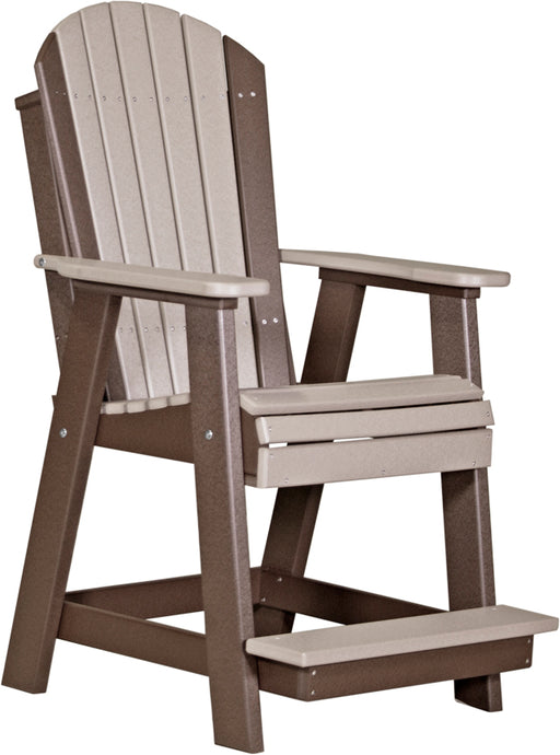 LuxCraft Adirondack Balcony Chair