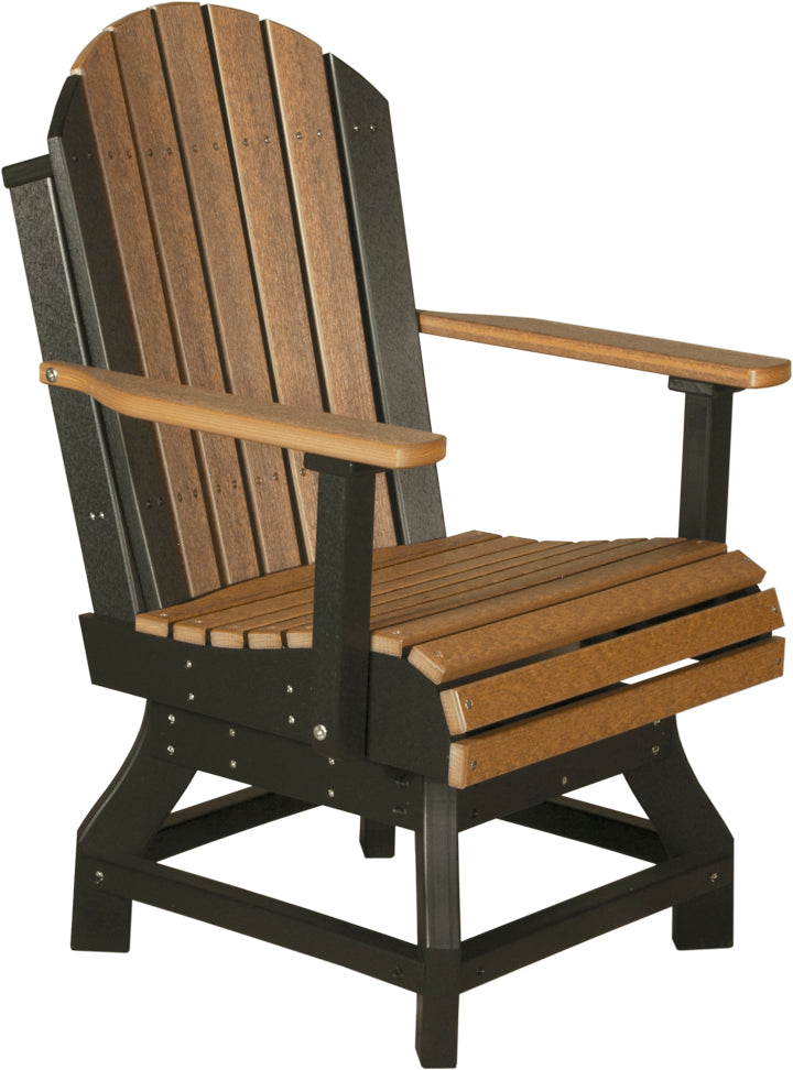 LuxCraft Adirondack Swivel Chair - Dining Height
