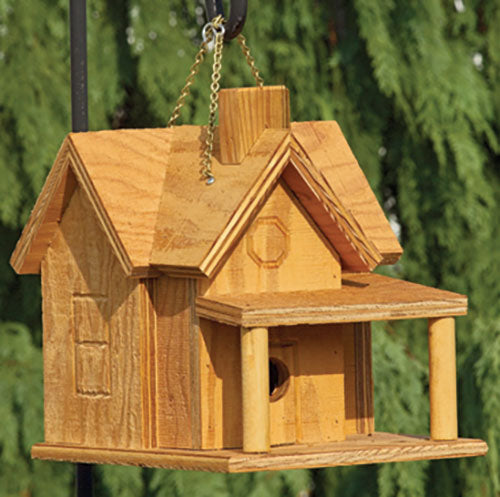 Twin Oaks Porch & Chimney Birdhouse