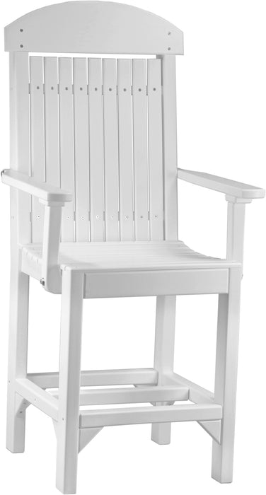LuxCraft Captain Chair - Counter Height