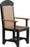 LuxCraft Captain Chair - Dining Height