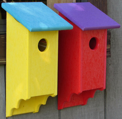 Twin Oaks Small Poly Flip Front Birdhouse