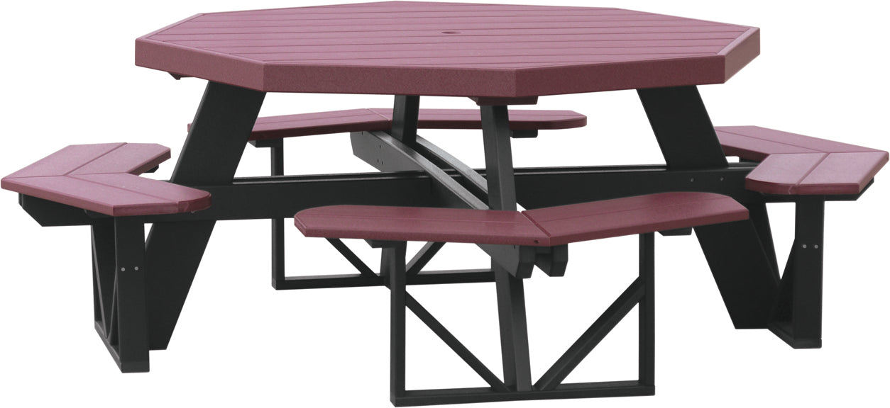 LuxCraft Octagon Picnic Table