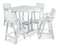 Polywood Nautical 5-Piece Bar Set