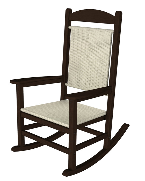 Polywood Presidential Woven Rocker