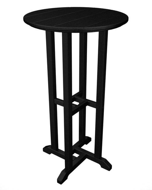 "Traditional 24"" Round Bar Table"