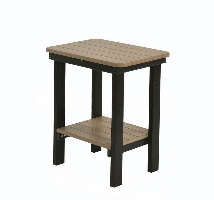 Berlin Gardens Rectangle End Table - Bar Height