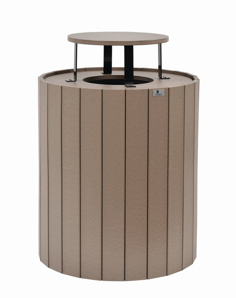 Berlin Gardens Round Trash Can - 32 Gallon