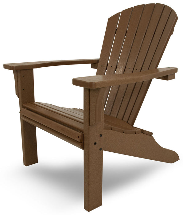 Polywood Seashell Adirondack Chair