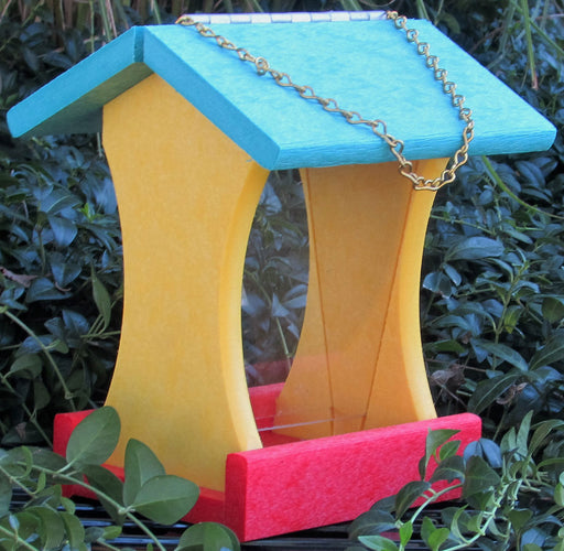 Twin Oaks Small Poly Birdfeeder