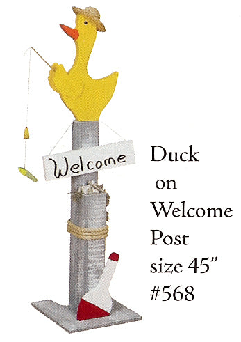 Welcome Post - Duck