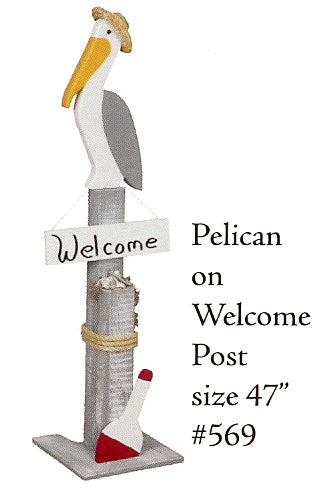 Welcome Post - Pelican