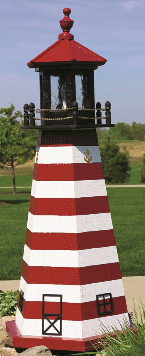 Twin Oaks 8' Lighthouse - West Quoddy Head