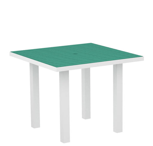 "Polywood Euro 36"" Square Dining Table"