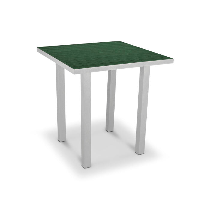 "Polywood Euro 36"" Square Counter Table"