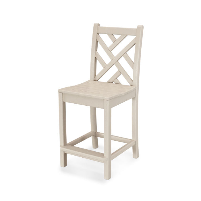 Polywood Chippendale Counter Side Chair