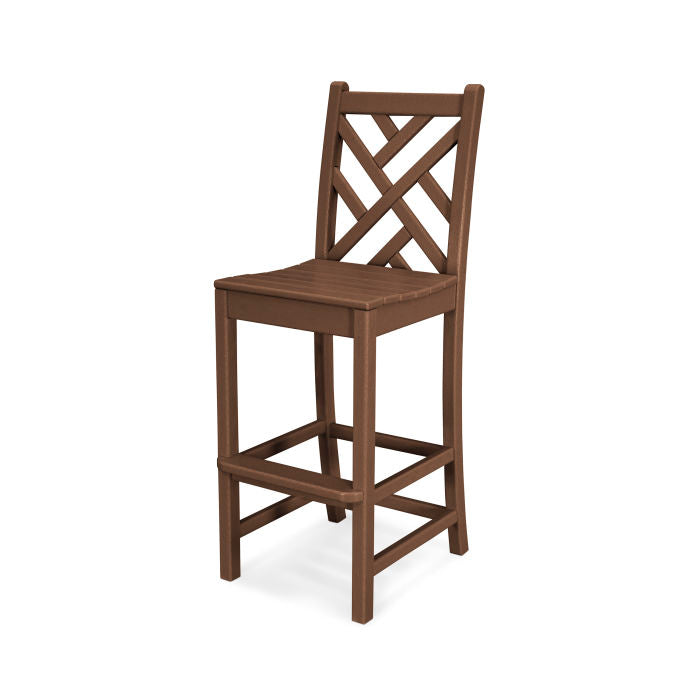 Polywood Chippendale Bar Side Chair