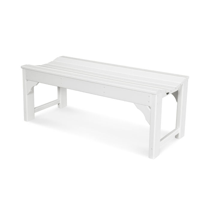 "Polywood Traditional Garden 48"" Backless Bench"