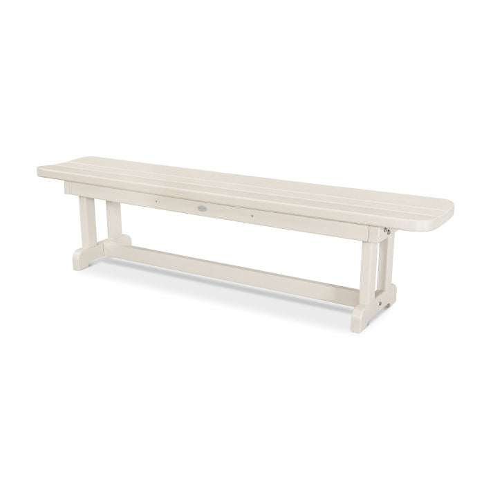 "Polywood Park 72"" Harvester Backless Bench"