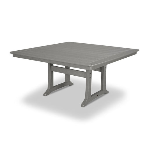 "Polywood Nautical Trestle 59"" Dining Table"