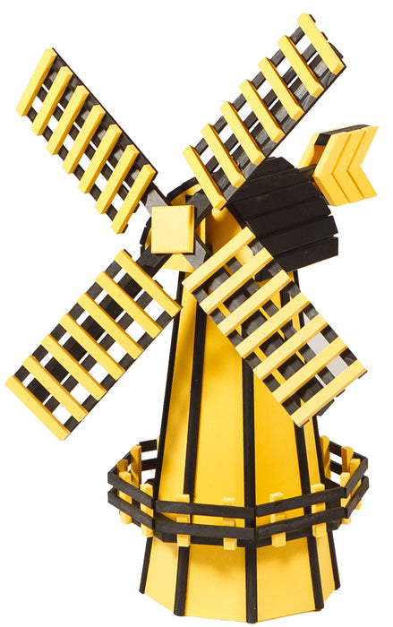 Medium Poly Rotating Windmill