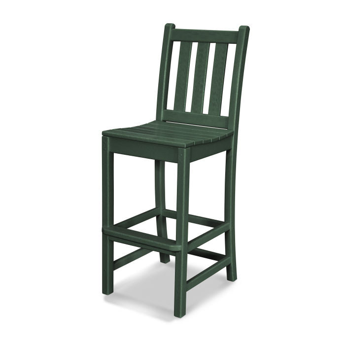 Polywood Traditional Garden Bar Side Chair