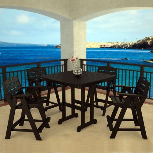 Nautical 5-Piece Bar Set