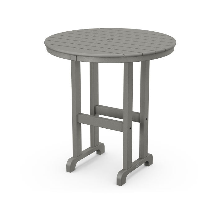 "Polywood La Casa Cafe Round 36"" Counter Table"