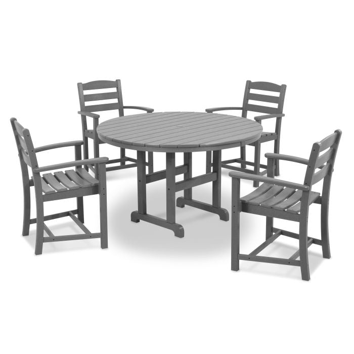 Polywood La Casa Cafe 5-Piece Dining Set
