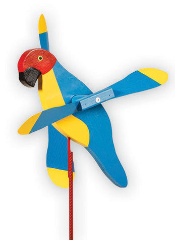 Whirly Bird - Macaw
