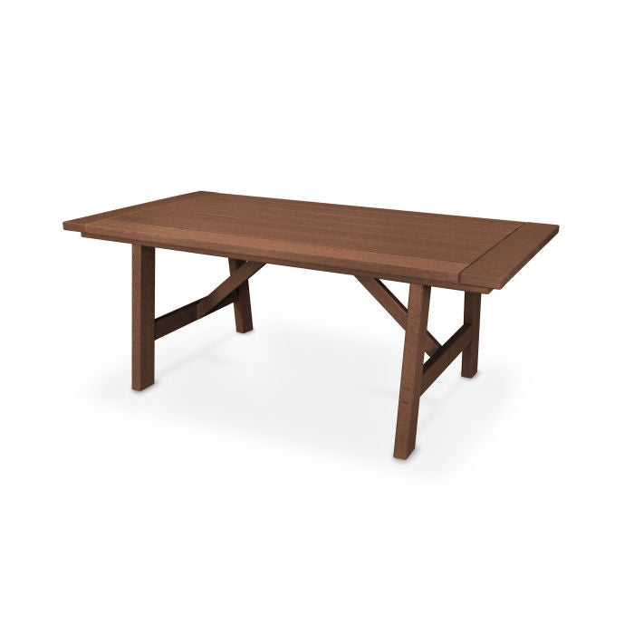 "Polywood Rustic Farmhouse 39"" x 75"" Dining Table"