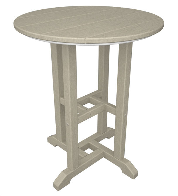 "Polywood Traditional 24"" Round Dining Table"